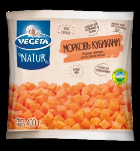 Морковь кубиками быстрозамороженная
