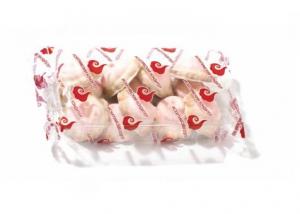 """Печенье сахарное многослойное """"Клубника со сливками"""""""