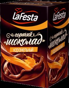 Горячий шоколад карамельный