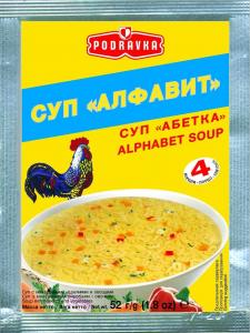 PODRAVKA суп Алфавит 52г
