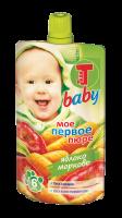 Теди BABY пюре яблоко--морковь
