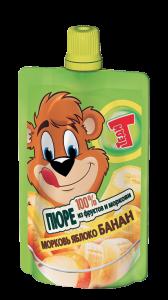 Теди ПЮРЕ банан