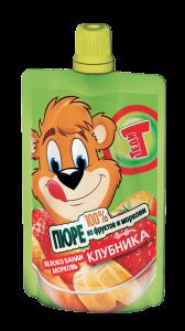 Теди ПЮРЕ клубника