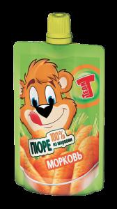 Теди ПЮРЕ морковь